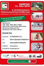 2. Internationales Pader-Leichtathletik Meeting